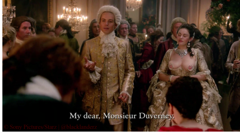 14_The King & Mistress in Swan Dress