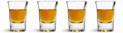 4 shot-glasses