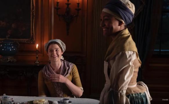 Image result for Jocasta, slave and maid in Outlander